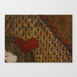 Attic Window Canvas Print