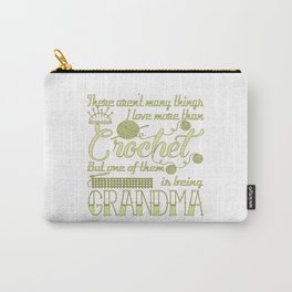 Crochet Grandma Carry-All Pouch