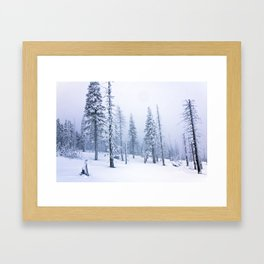 Snow 2.0 Framed Art Print