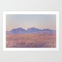 Westward II Art Print