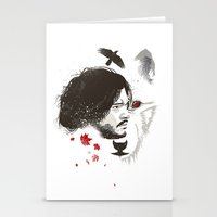 snow Stationery Cards featuring Snow by Danny Haas