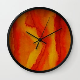 Color Lining Wall Clock