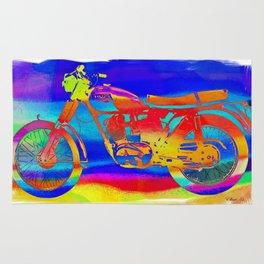 Triumph Dayglo Motorcycle Rug