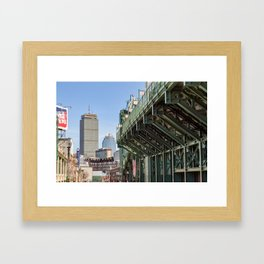 The Other Side of the Wall, Boston Framed Art Print