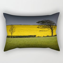 Rapeseed field Rectangular Pillow