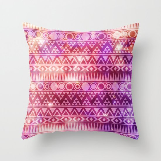 Tribal Fire. Throw Pillow