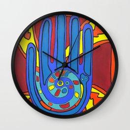 Harmony Hand Wall Clock