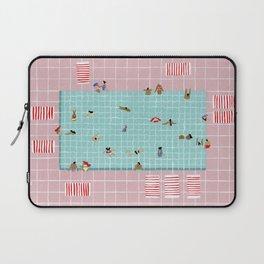 Pink Tiles Laptop Sleeve
