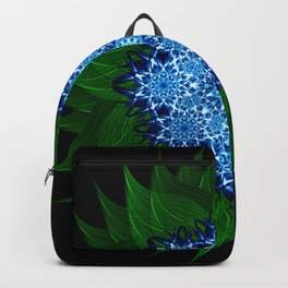 Arctic Flower Mandala Backpack