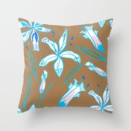 Lilies Cool Throw Pillow