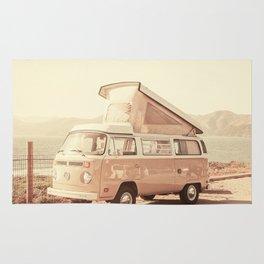 Vintage Van (Color) Rug