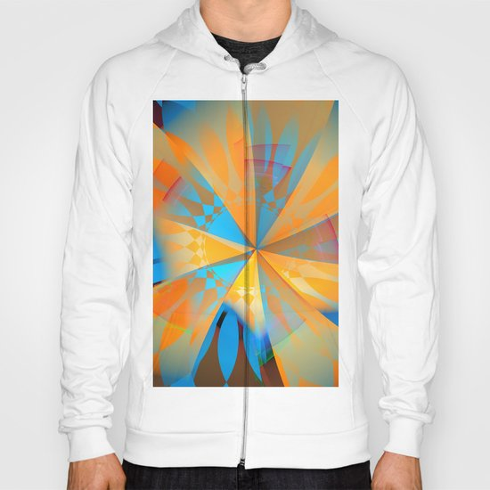Thinking of a blue sky and the summer sun Hoody