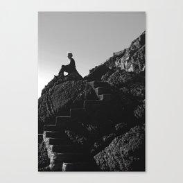 Inhale/Exhale Canvas Print