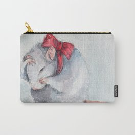 Rat bow Carry-All Pouch
