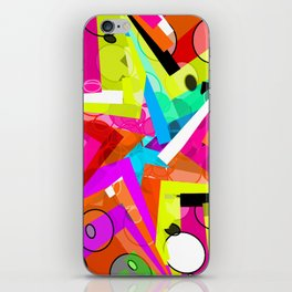 Party star iPhone Skin