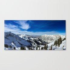Ski Vista Canvas Print