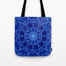 Ocean of Light Mandala Tote Bag