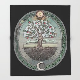 Origins Tree of Life Throw Blanket