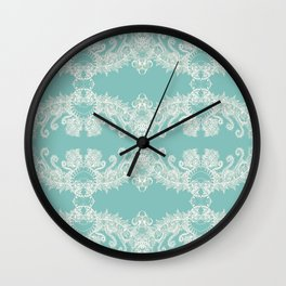 Colleen's Teal End Free Wall Clock