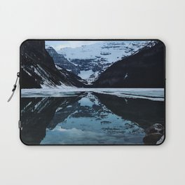 Lake Louise at sunset Laptop Sleeve