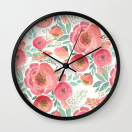 Floral pattern 5 Wall Clock