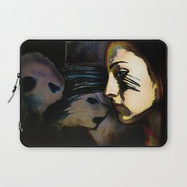Mean Spirited Gossip Laptop Sleeve