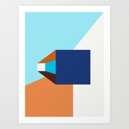 Poligonal 263 Art Print