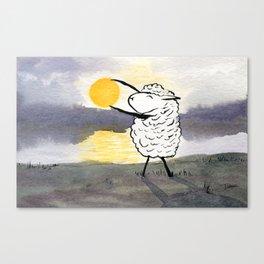 Capture the Sun Canvas Print
