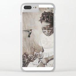 Uganda Orphan Clear iPhone Case