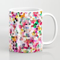 mosaic Mugs featuring Mosaic by Laura Ruth