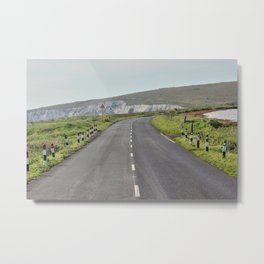 Road to the Hills Metal Print