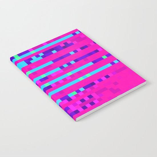 Pixel Pattern 2 Notebook