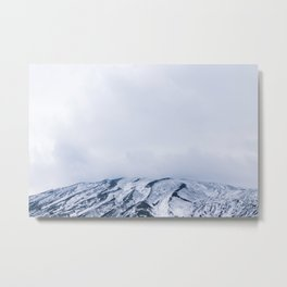 'In the clouds' Sicilian Mountains | Fine Art Travel Photography | Italian Photography Metal Print