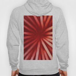 Intersecting-Red Hoody