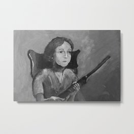 Loretta. Metal Print