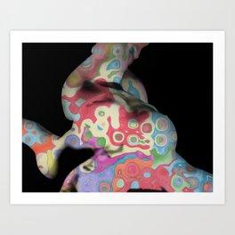 Camuflaje Art Print