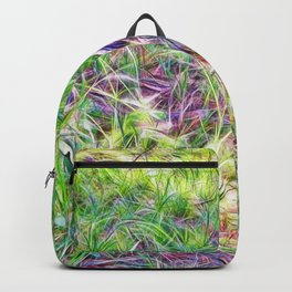 Hens in a field Backpack
