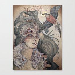 The Dodo's Widow art print Canvas Print