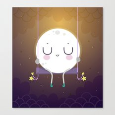 Little Moon Canvas Print