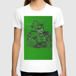 3D green dream T-shirt