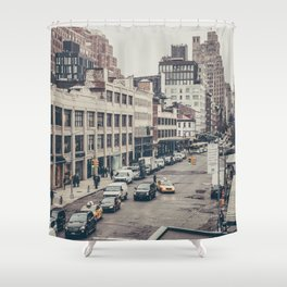 Tough Streets - NYC Shower Curtain