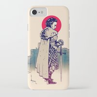 sword iPhone & iPod Cases featuring Dude&Sword by Aleksander Rostov