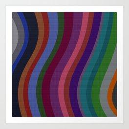 Color Bars Art Print