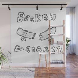 broken dreams Wall Mural