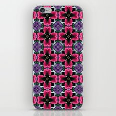 Yarn Pattern (floral) iPhone & iPod Skin
