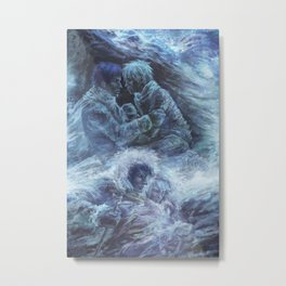 Left hand of darkness Metal Print