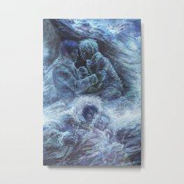 Left hand of darkness Metal Print