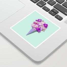 Flower Flurry II Sticker