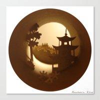 china Canvas Prints featuring China by Anastassia Elias