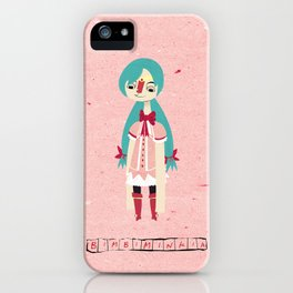 """Bimbiminkia"" - Cosplayer iPhone Case"